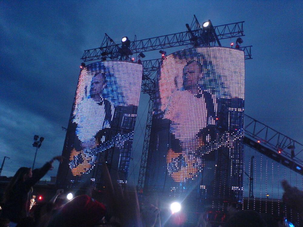 Flea von den Red Hot Chili Peppers