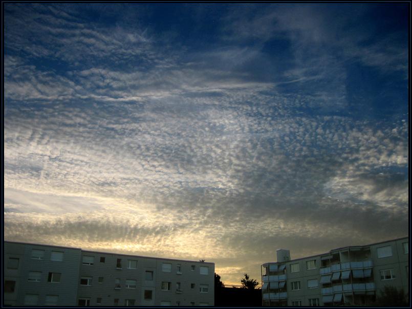 fleecy clouds II