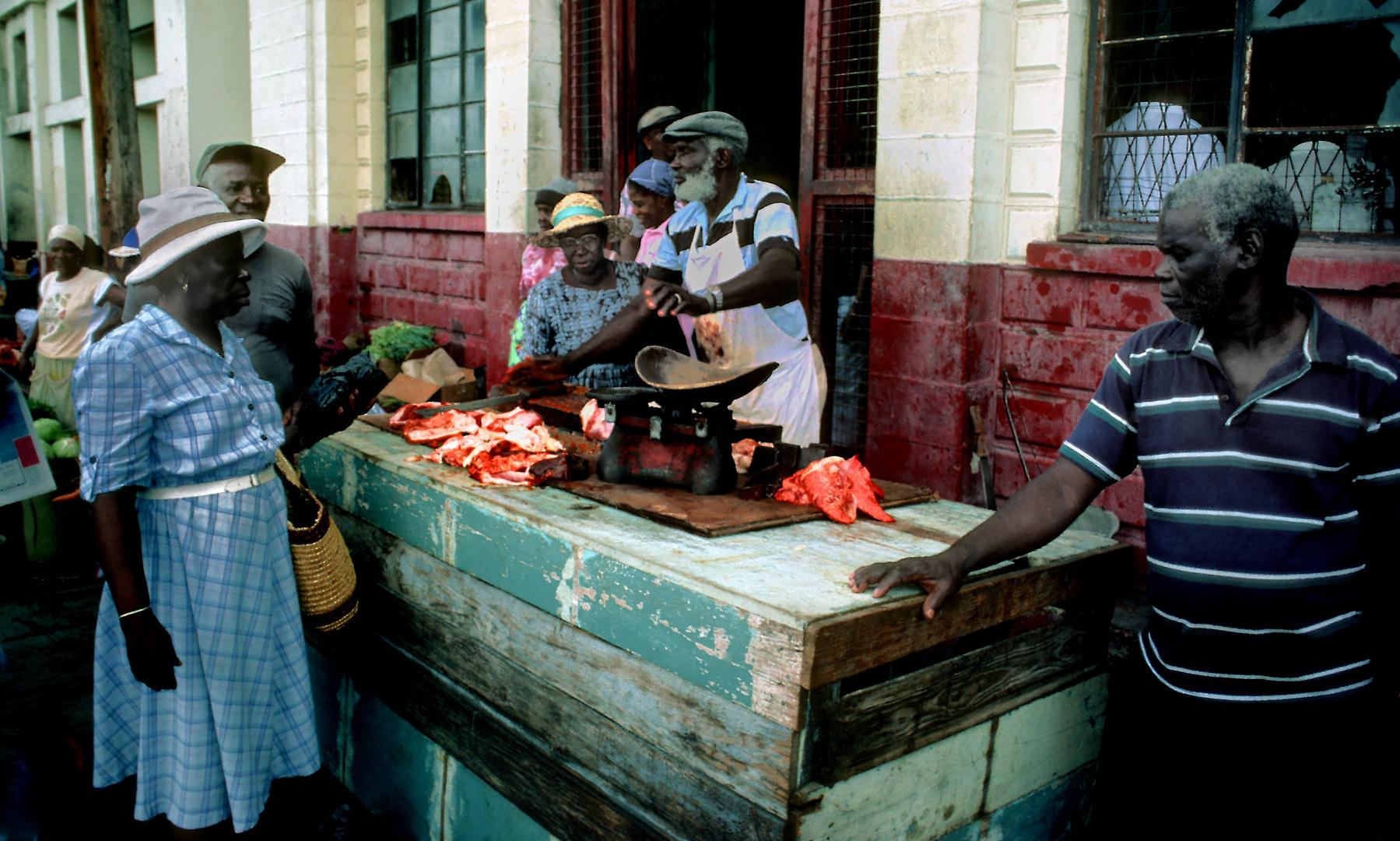 Fleischmarkt in St Georges