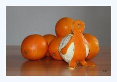 Fleißige Orange