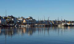 Flensburg Panorama Museumshafen
