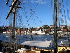 Flensburg von der Ostseite