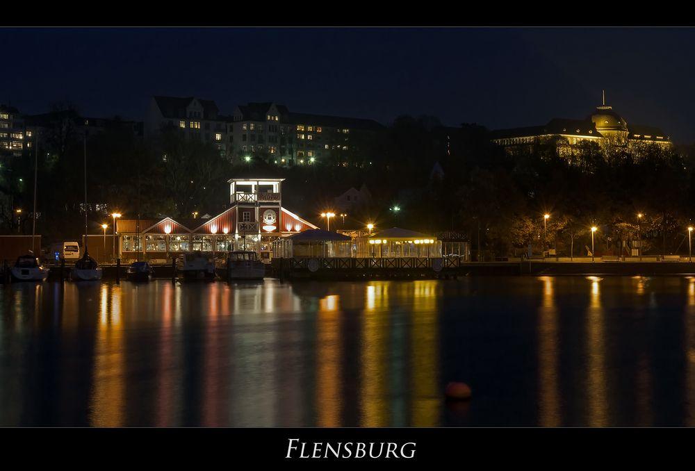 """Flensburger-Stadtimpressionen """" bei Nacht..."""""""