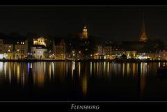 """Flensburger-Stadtimpressionen """" vom Ostufer aus gesehen..."""""""