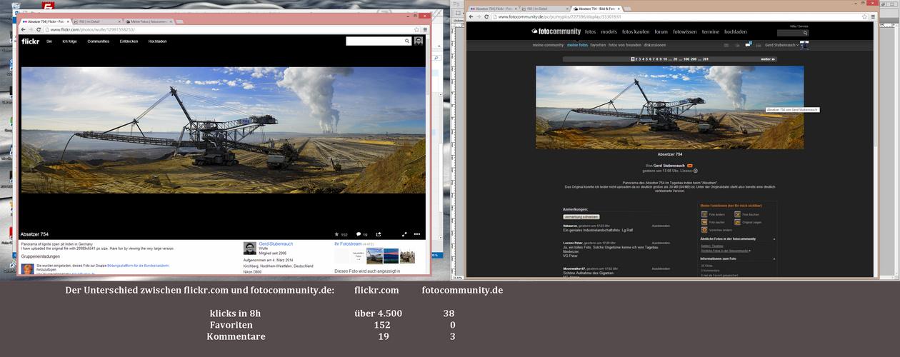 flickr vs fc