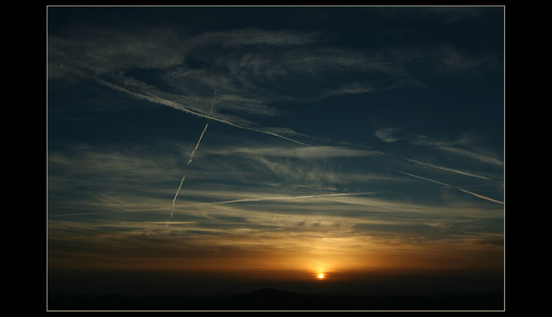 Fliegen - Der Sonne entgegen