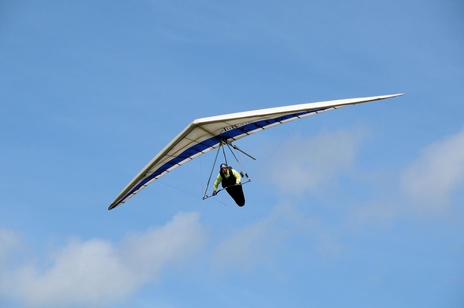 Fliegen, frei wie ein Vogel!