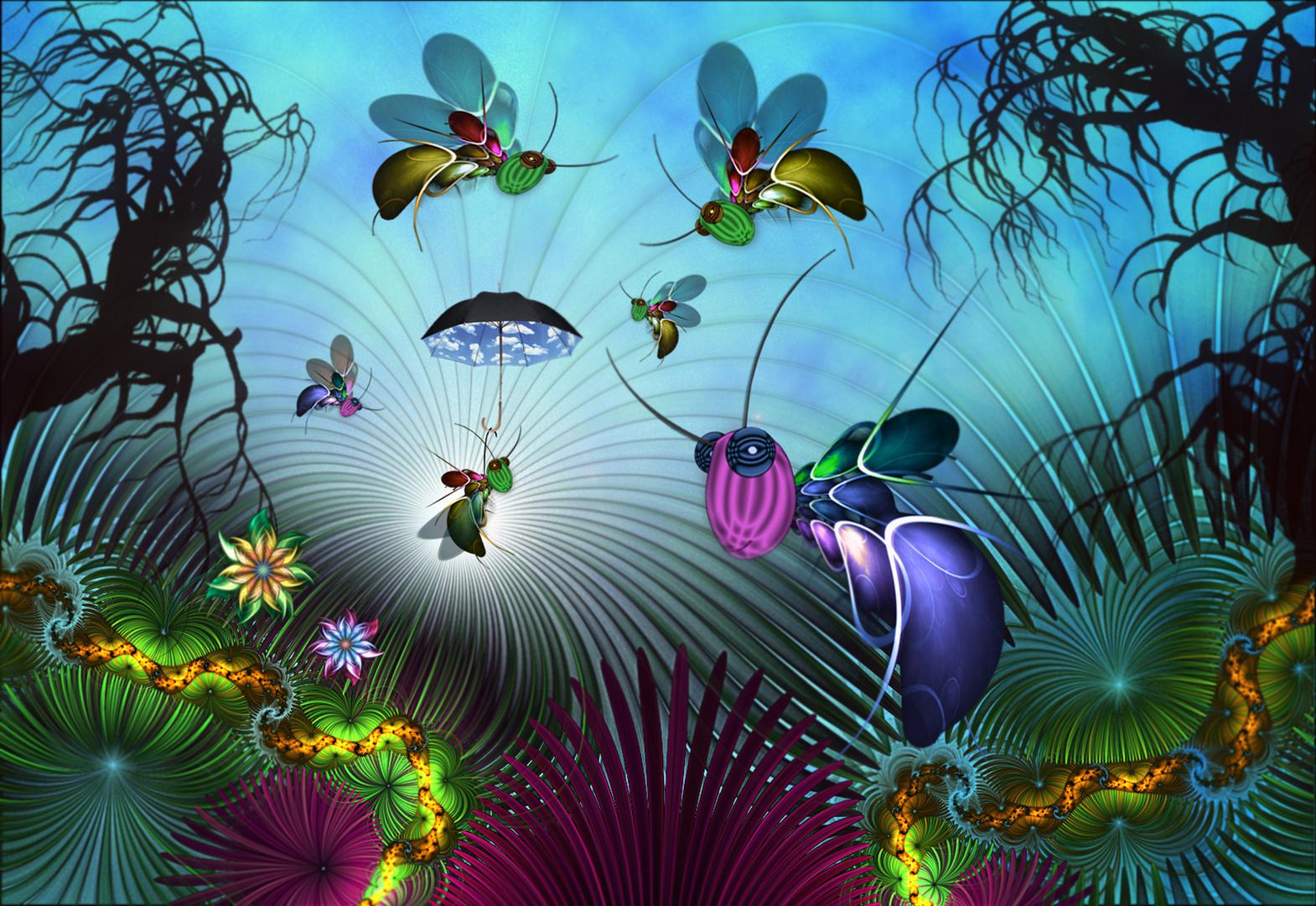 Fliegen lernen ;-)