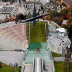 --fliegen über Innsbruck