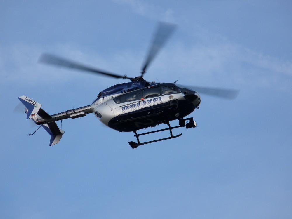 Fliegende Polizei