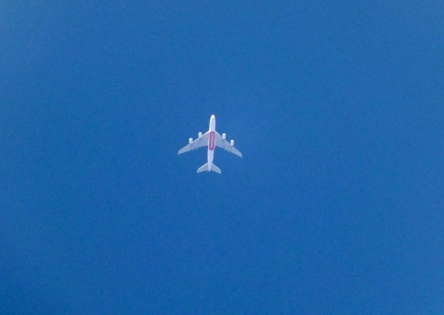 Fliegendes Werbeschild