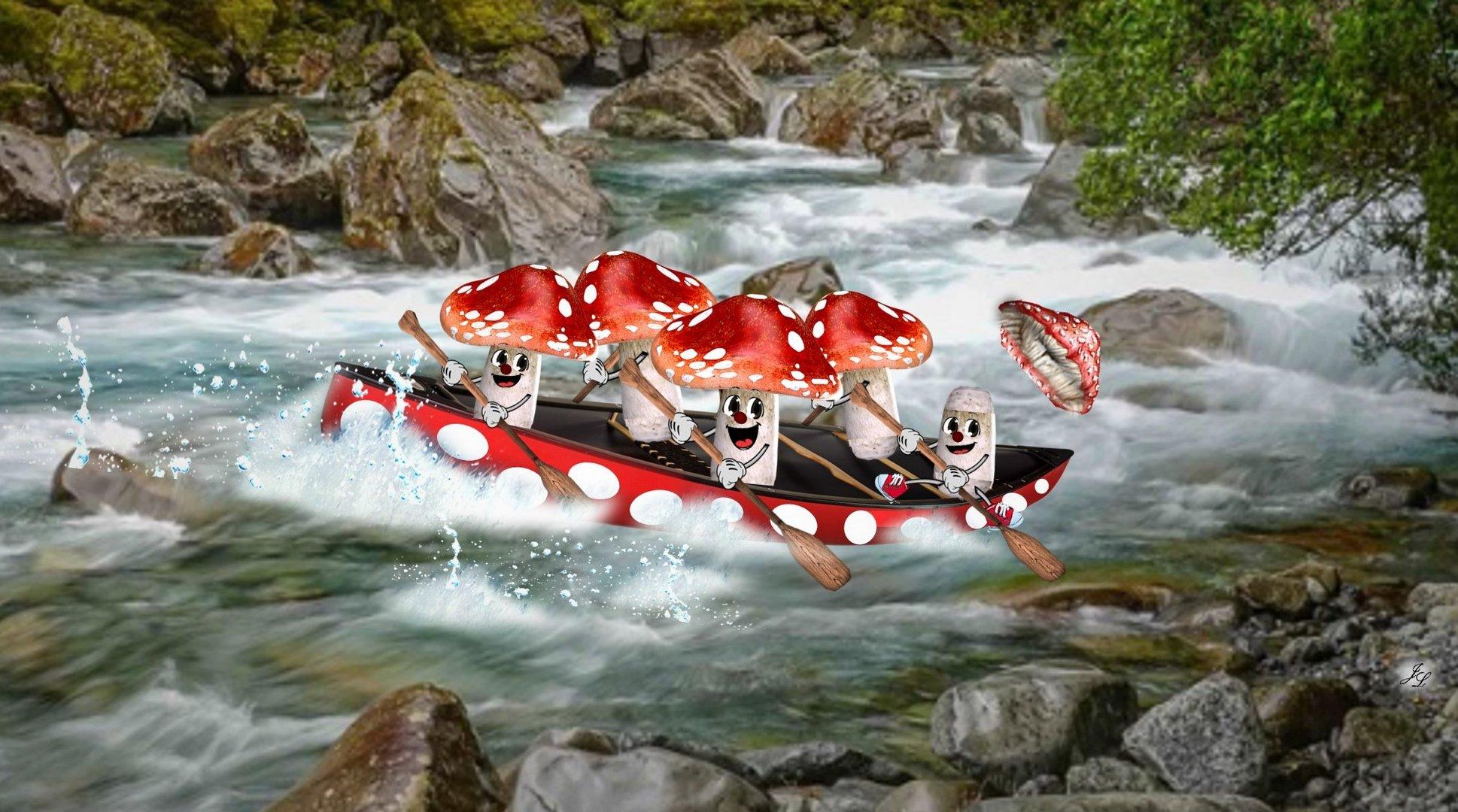Fliegenpilz_Wildwasserfahrt