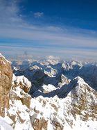 Flieger, grüss mir den ( Alpen ) Himmel... .