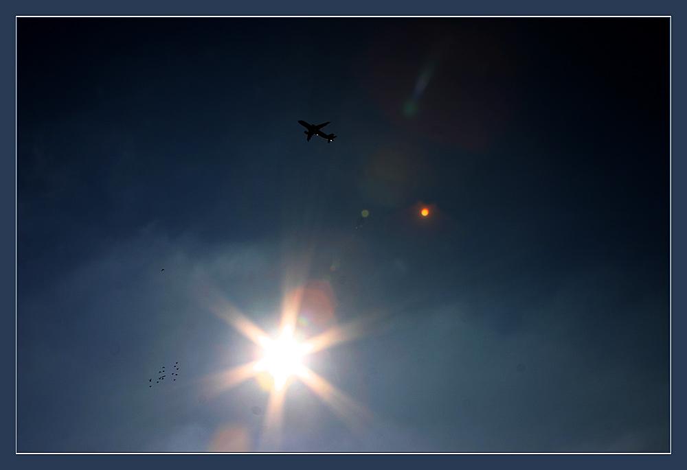 Flieger, grüß` mir die Sonne...!!!
