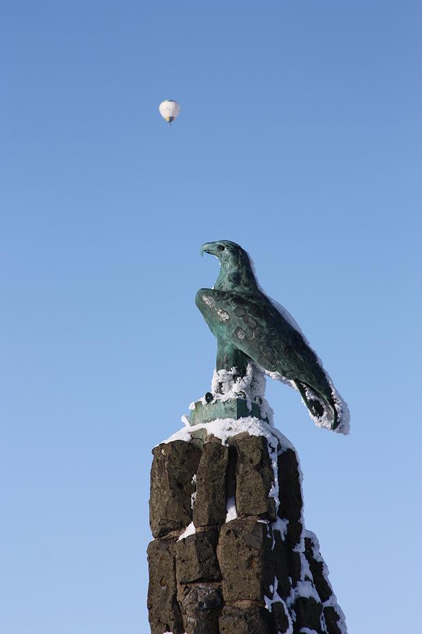 Fliegerdenkmal auf der Wasserkuppe