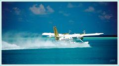 Fliegerparadies Malediven