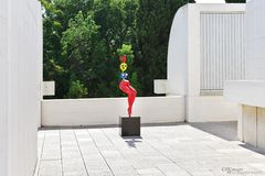 Fliehendes junges Mädchen - Joan Miró