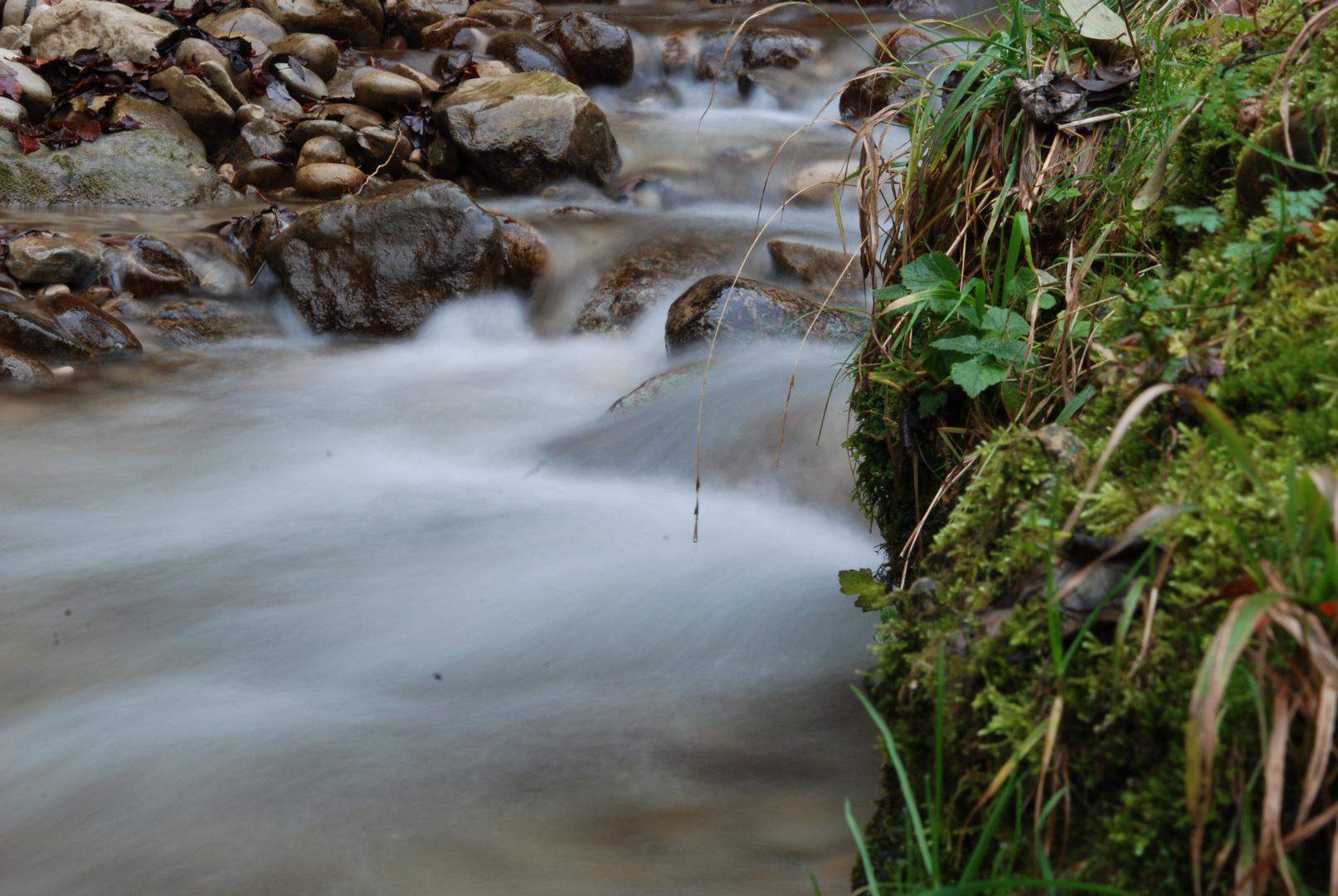 fliessender Fluss