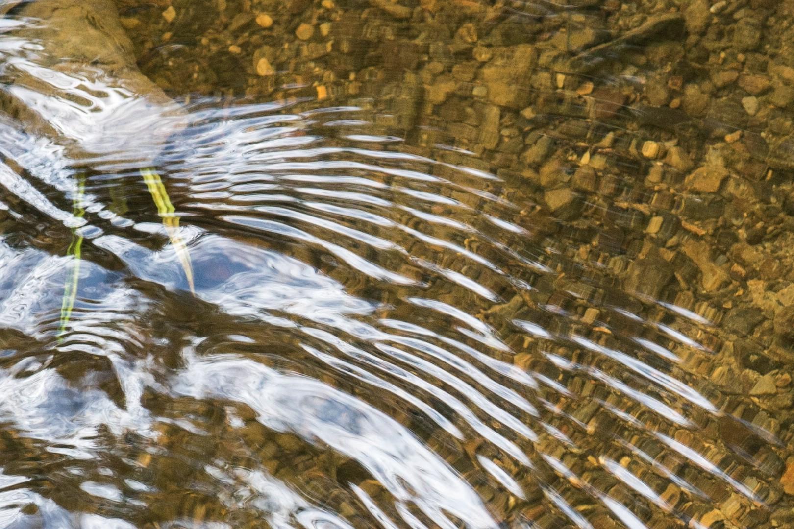 Fliessendes Wasser erzählt Geschichten ! #2