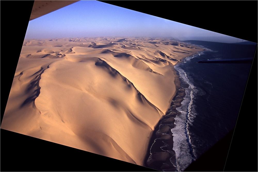 flight over namib - reloaded