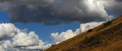 Flinke Füsse waren gestern mittag beim Abstieg vom Berg Cicov nötig...