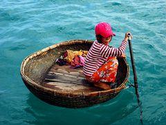 Floating basket