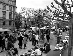 Flohmarkt am Mainufer