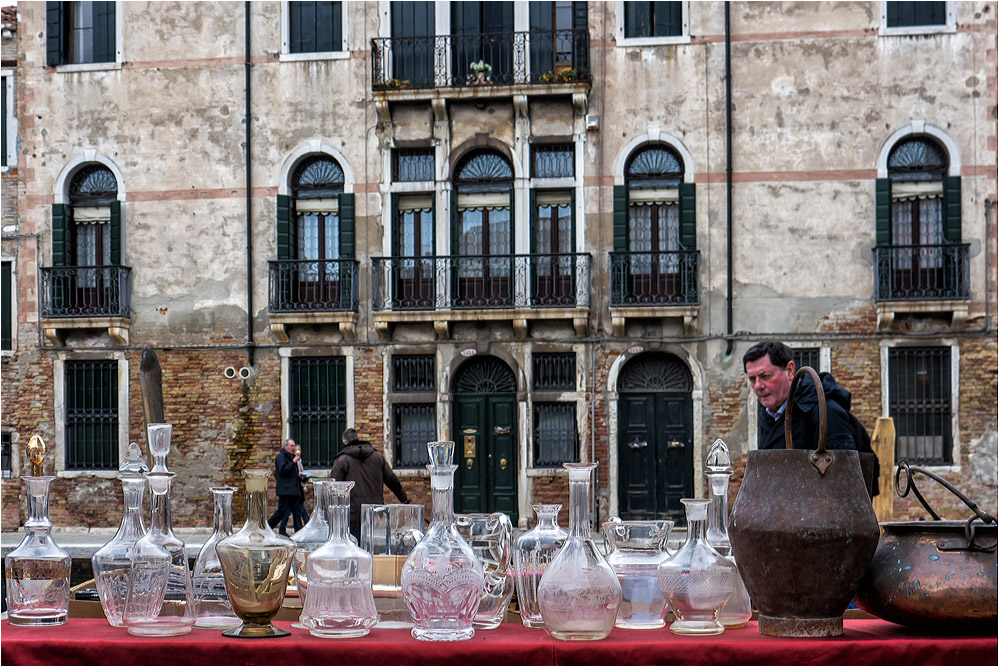 Flohmarkt in Dorsoduro...