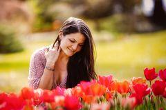 Floraler Farbflash