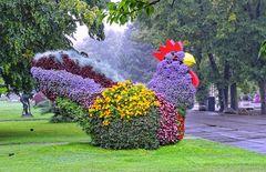 Florales Kunstwerk