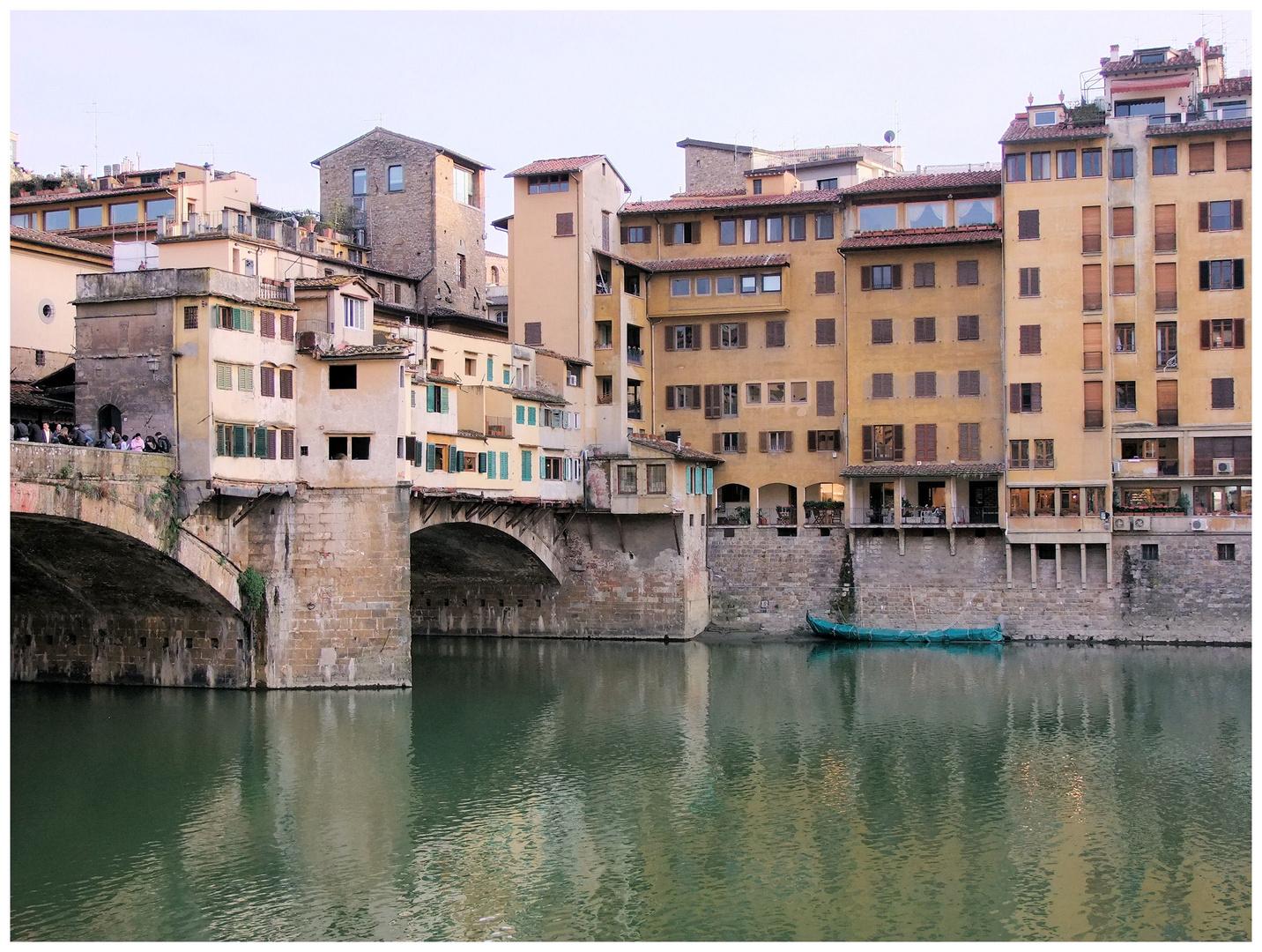 Florence. Le ponte vecchio 2.