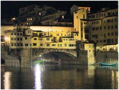 Florence. Nocturne sur le ponte vecchio