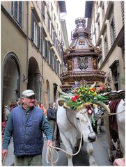 Florence. Scoppio del Carro. 2