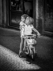 Florenz  2 - Auf vier Rädern zu zweit unterwegs.