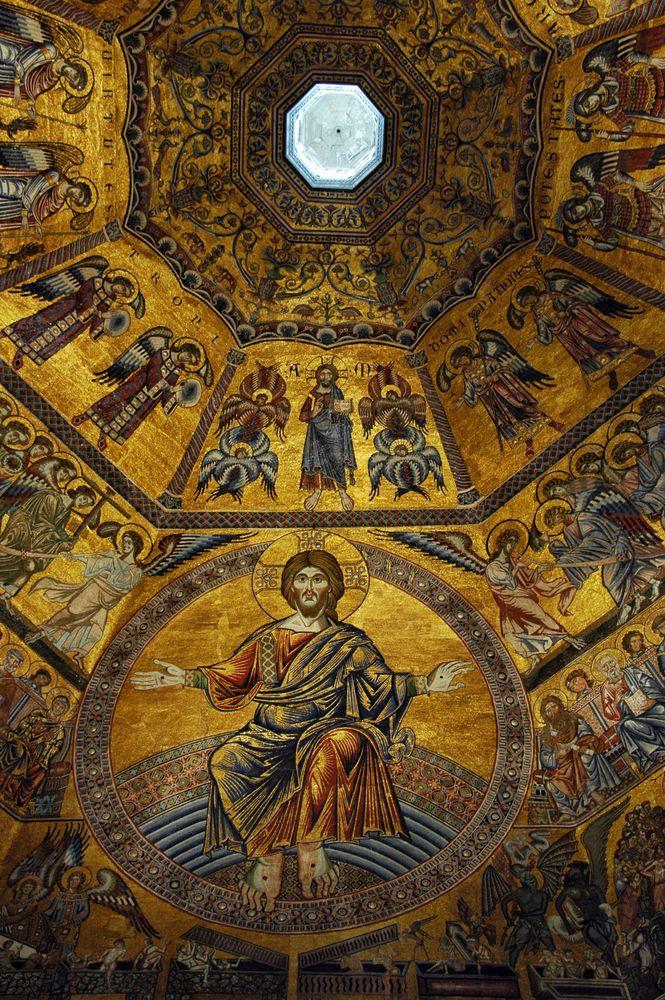 Florenz - Decke des Baptisteriums