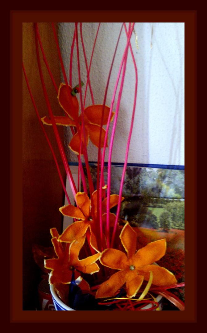 Flores de mandarinas