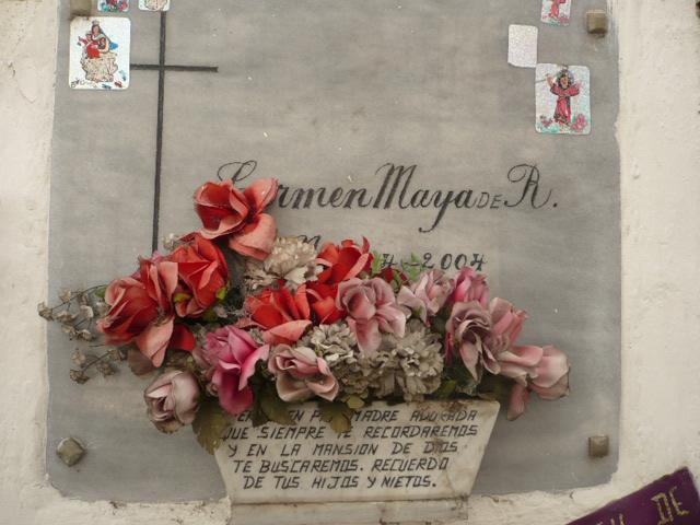 Flores del cementerio