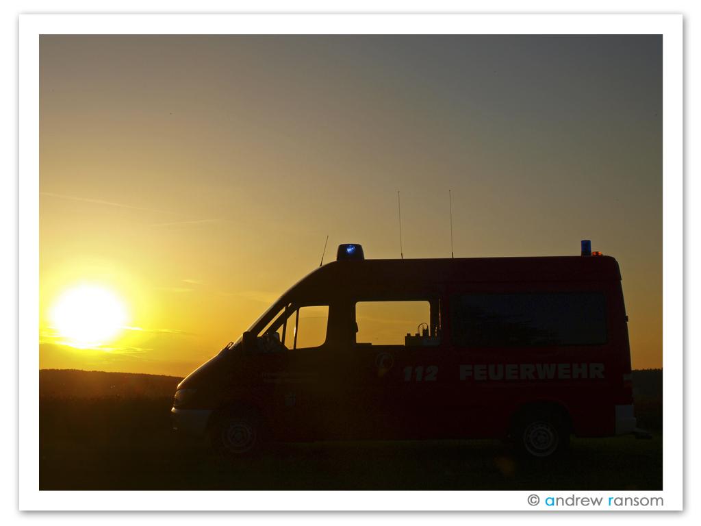 Florian Sinntal 1-11-1 im Sonnenuntergang
