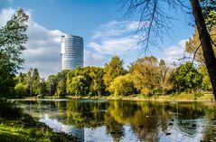 Floridotower Wien Floridsdorf Wasserpark