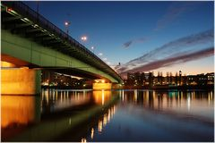 Floridsdorfer Brücke in Wien