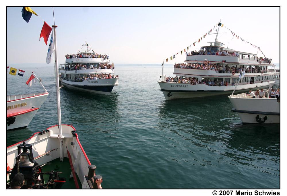 Flottensternfahrt 2007