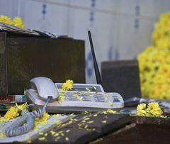 flower phone