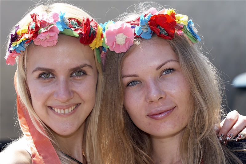 Flowered girls