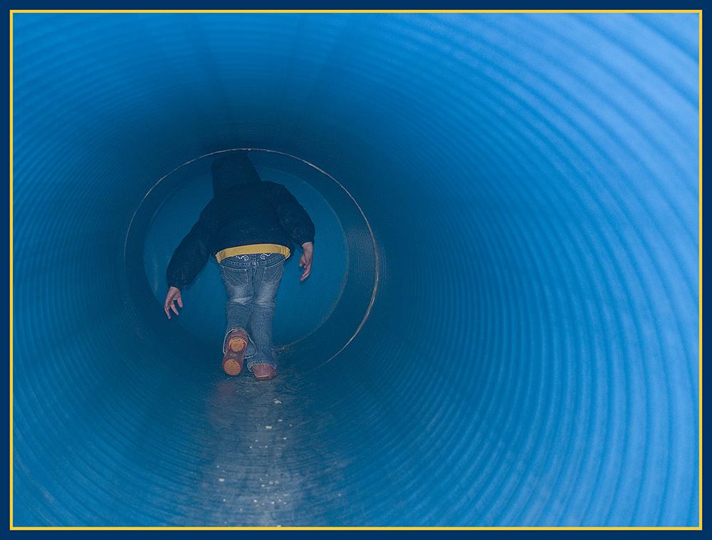 Flucht ins Blaue