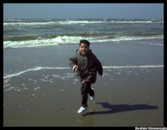 Flucht vor den Wellen