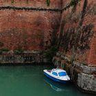 Fluchtboot vor der Festung