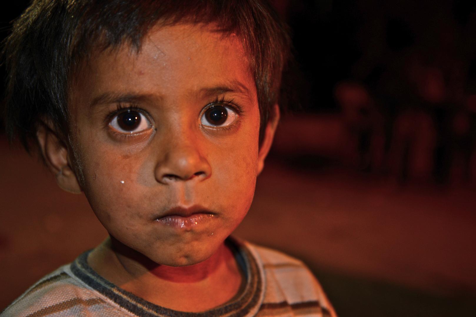 Flüchtlingskind aus Syrien