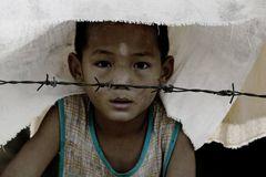 Flüchtlingskind Burma