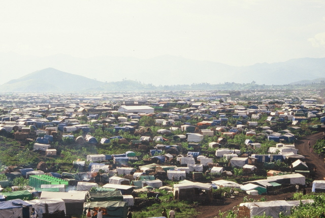 Flüchtlingslager 1994 - Zaire -