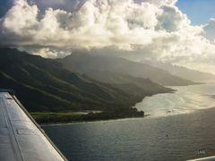 Flüge im Südpazifik
